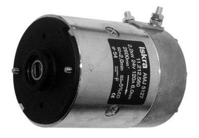 Gleichstrommotor Iskra Letrika IM0021 BUCHER, 2.0kW 24V
