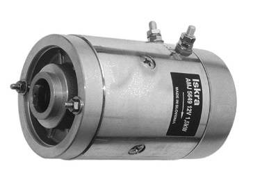 Gleichstrommotor ISKRA IM0003, 1.5 kW 12V DC-Motor