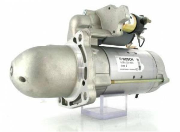 Anlasser Bosch 0001231033 MERCEDES-BENZ, 4.0kW 24V