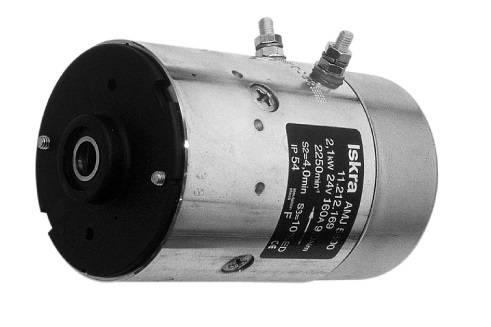 Gleichstrommotor Iskra Letrika IM0008 FLUITRONICS, 2.1 kW 24V