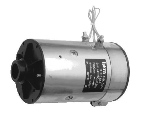 Gleichstrommotor Mahle MM194 IM0241 für HYDAC, 3.0kW 24V