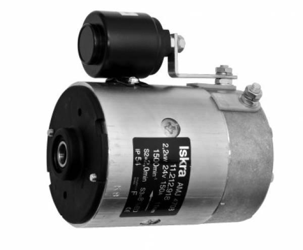 Gleichstrommotor Iskra Letrika IM0048 RELATED FLUID P, 2.2kW 24V
