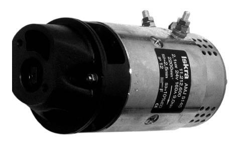 Gleichstrommotor Iskra Letrika IM0026 BOSCH, 2.1 kW 24V