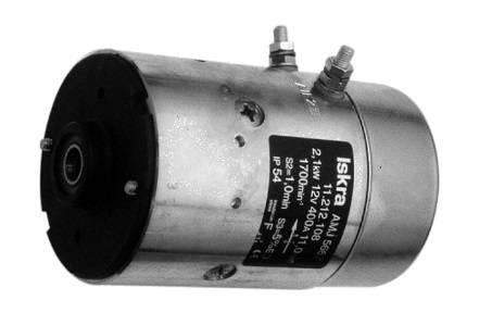 Gleichstrommotor Mahle MM106 IM0159 für HALDEX, 2.1kW 12V